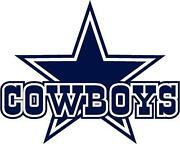 Dallas Cowboys Wall Art dallas cowboys wall decal | ebay