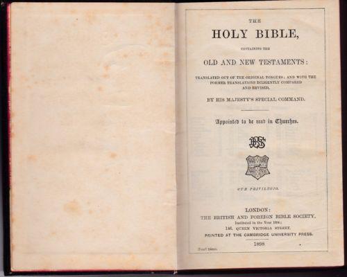Bible | Buy the Holy Bible, King James Bible & Pocket