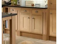 Brand new Howdens solid oak wood kitchen doors. Transform your kitchen with these new doors!