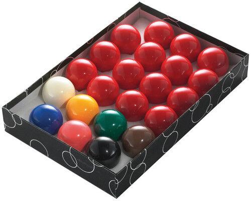 31.99 NEW Set of 22 Snooker Balls Full Size 2 1/16