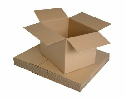 200 SMALL NEW QUALITY SINGLE WALL POSTAL 449x349x159 mm MAILING CARDBOARD BOXES