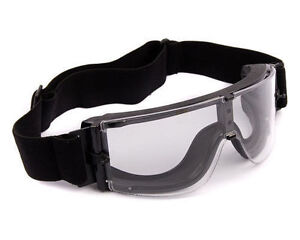 X800 Airsoft Goggles / Paintball Goggles / Tactical Clear Army Glasses