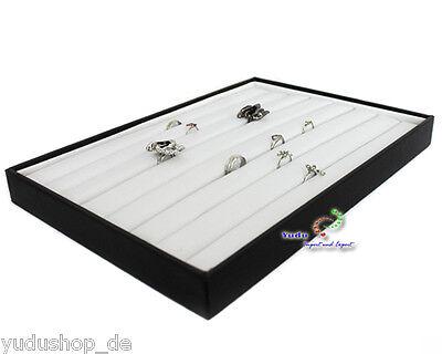 Vorlagebrett Schaukasten für Ring  schwarz / weiss