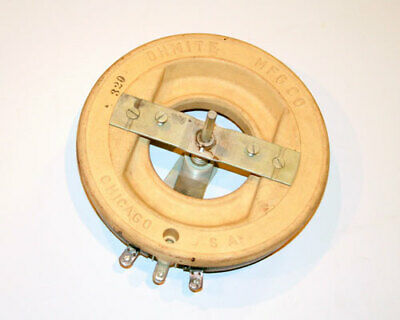 Rus50r Potentiometer 50ohm 1000w Rheostat