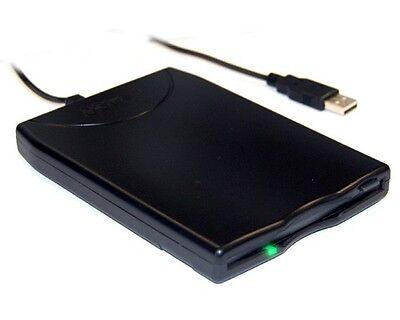 Bytech Bt-144 Slim Black Usb External Floppy Disk Drive