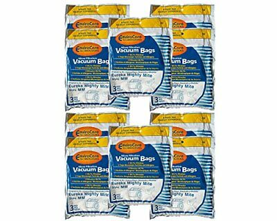 30 Eureka Allergy Mighty Mite Vacuum Style MM Bags, Canister Limited,