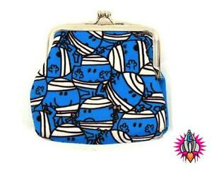 MR MEN MR BUMP BLUE COIN CLIP WALLET PURSE NEW WITH TAGS