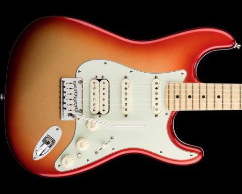 Fender American Deluxe Stratocaster Hss Ebay