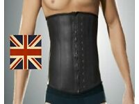 Mens Workout Support Band - High Compression Latex -Support Your Back While Weight Lifting & More