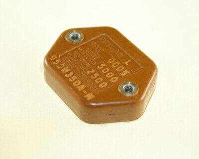 950n350a-m Sangamo-cde Capacitor 500pf 2500v Silver Mica Transmitting