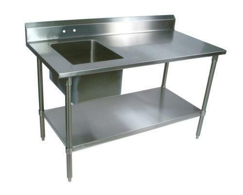 stainless steel work table 30x60 ebay. Black Bedroom Furniture Sets. Home Design Ideas