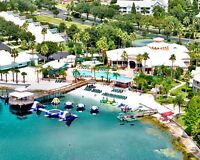 Timeshare resorts at home resort or RCI Exchange