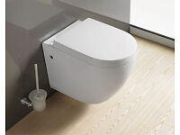 New Wall Hung WC pan with a concealed cistern.