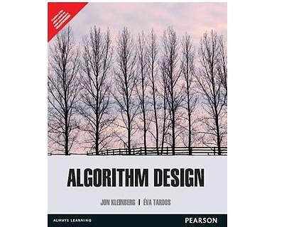 Algorithm Design by Jon Kleinberg and Éva Tardos Paperback