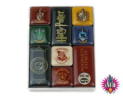 OFFICIAL HARRY POTTER EPOXY FRIDGE MAGNET SET