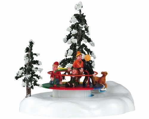 animated christmas village ebay - Motorized Christmas Decorations