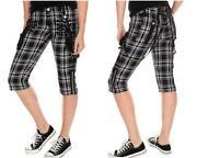 Punk Plaid Pants