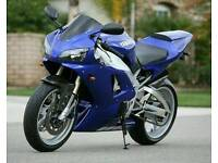 Yamaha R1 4xv Breaking, 1998 99 2000 01 02 All Parts Avaliable, Engine, Wheels, Frame.
