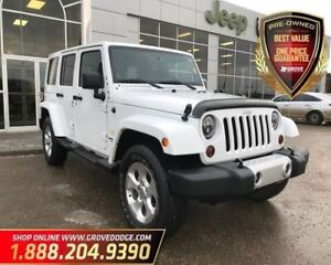2013 Jeep WRANGLER UNLIMITED Sahara| 4X4| CD player| Remote Star