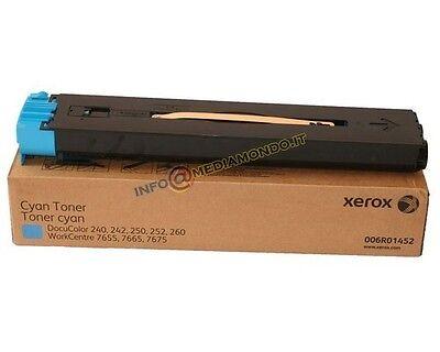 Usado, TONER ORIGINALE 006R01452 6R1452 Xerox DocuColor 240 242 250 252 260 - Confz. 2x segunda mano  Embacar hacia Spain