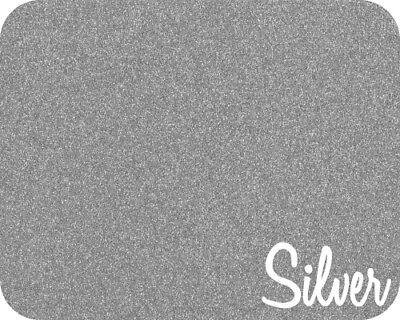 20 X 5 Yards - Stahls Glitter Flake - Heat Transfer Vinyl - Silver
