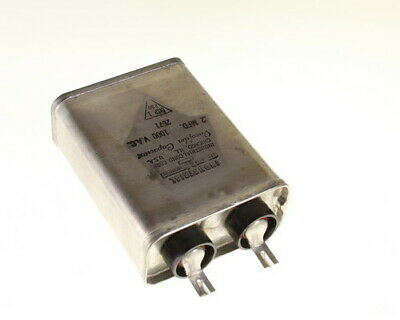 .2mfd 1000vac Hermetically Sealed Oil Capacitor .2uf 1000v Ac 1kv Volts .2mf