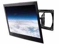 "TV bracket. Peerless SLWS250/BK Ultra Slim Articulating Wall Mount for 32-46"", 27 kg max."