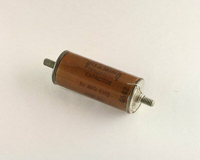 New Sprague 0.02uf 3000v Vitamin Q High Voltage Oil Capacitor 0.02mfd