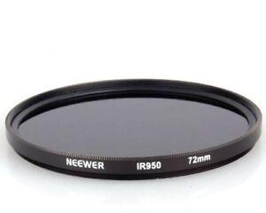 Neewer 72 mm Filtre infrarouge – Ir850