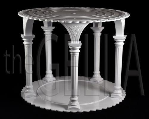 wedding cake with columns wedding cake columns ebay 26852