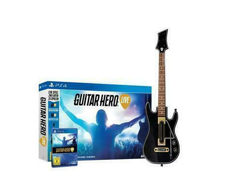 NEW PS4 Guitar Hero Live Bundle Sony Playstation 4 Game Guit