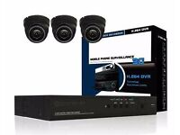 3 cctv cameras supplied and fitted £299 with mobile phone view DVR LIMITED OFFER*