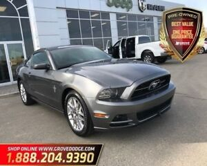 2014 Ford Mustang V6| Cloth| Low KM| Heated Seats| Rear Sensors