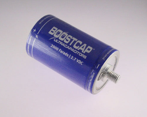 Maxwell 2000F 2.7V Battery Back Up Capacitor K2 Series UltraCapacitors BOOSTCAP