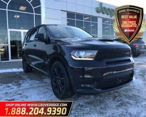 2018 Dodge Durango R/T| AWD| Low KM| DVD| Remote Start