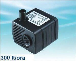 Pompa per acquario acquari 300 lt h regolabile hj411 ebay for Pompa x acquario