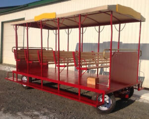 TROLLEY ( A fun way to ride at outdoor venues)