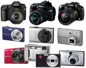 Buying Used Digital Cameras 16mp and up