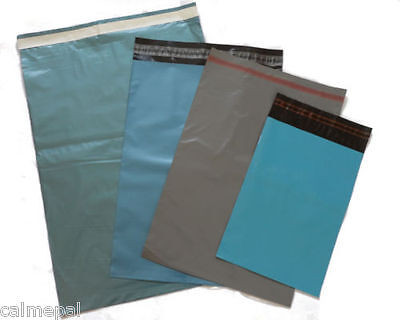 50 MIXED SIZES POSTAL/MAILING BAGS   *FREE p&p*