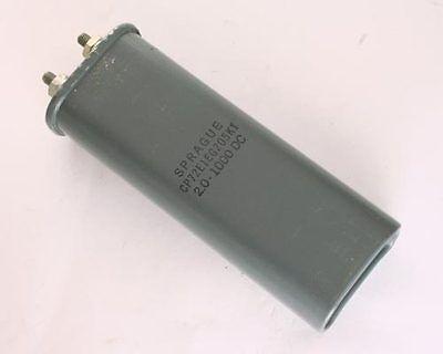1x 2uf 1000v Oil Hermetically Sealed Capacitor 1kv Dc 2mfd Sprague High Volts