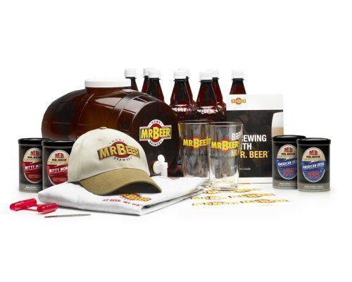 Mr. Beer 20629 Brewmaster's Select Home Beer-Making Kit