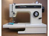 SINGLE DIAL FRISTER-ROSSMANN SEWING MACHINE. ex condition