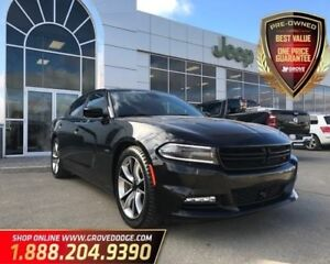 2015 Dodge Charger Road/Track| Low KM| Leather/Suede| Sunroof