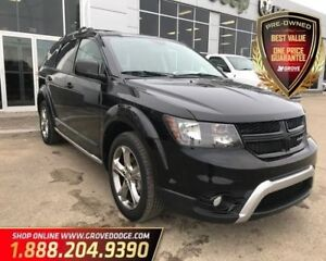 2016 Dodge Journey Crossroad| AWD| Leather| Remote Start| Sunroo