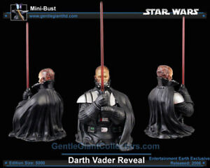 STAR WARS DARTH VADER (ANAKIN REVEAL) GENTLE GIANT BUST