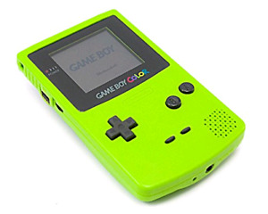 Console kiwi green Gameboy color gbc nintendo Pokemon comme neuf