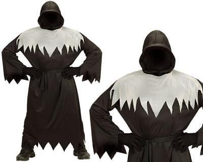 Phantom Dunkle Gestalt Tod GHUL Geist Kinder Kostüm Gr. 140 Halloween - Dunkle Phantom Kostüm