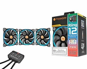 Thermaltake Riing 12 RGB fans 3 pack for Sale