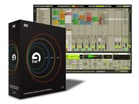 Ableton live 5 original boxed version