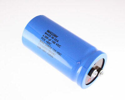 6000uf 100v Large Can Electrolytic Capacitor 100 Volts 6000mfd 100vdc 85c